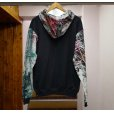 画像18: COLOR BLOCK HOODED SWEAT SHIRT (18)